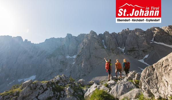 Spektakuläre Weitsichten und beeindruckende Naturschauplätze gibt es in der Region St. Johann in Tirol mit jedem Ausflug zu entdecken.